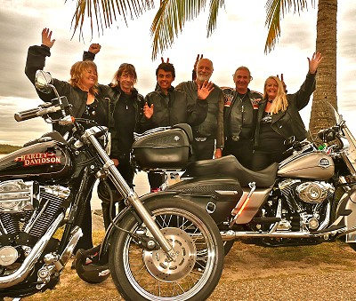 Gift vouchers for Harley rides