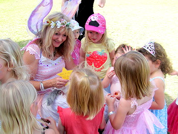 Fairy Parties with Facepainting with Gabrielle Shootingstar