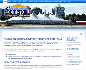 Somersault Productions Tent Hire